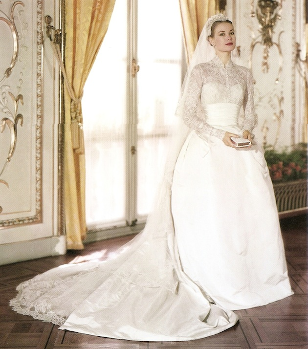 The most iconic wedding dresses of history carries bridal grace kelly junglespirit Image collections